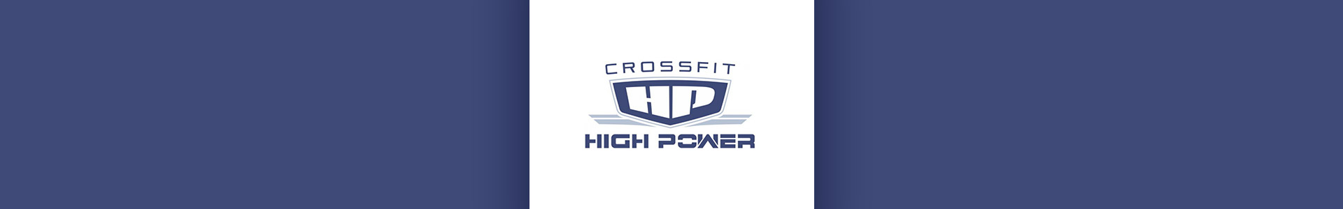 CrossFit High Power Banner