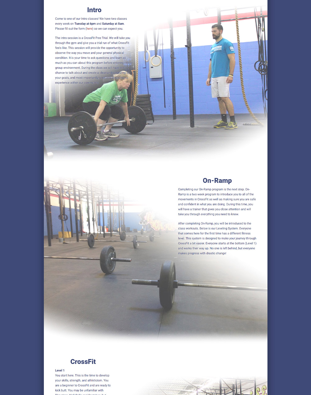 CrossFit High Power Programs Page